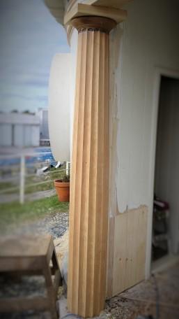New pillar for restoration