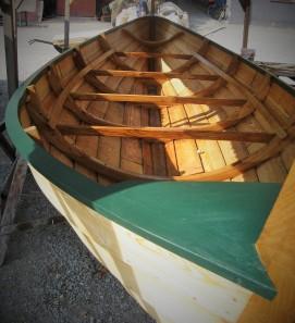 Shetland haddock boat