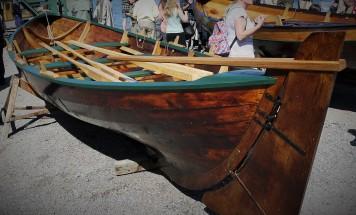 Shetland sailing double ender