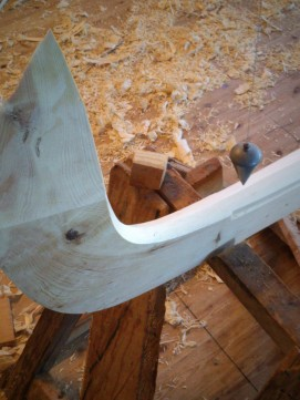 Scarf joint for stem