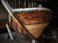 Rowing dinghy repair