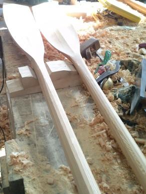 Dinghy oars