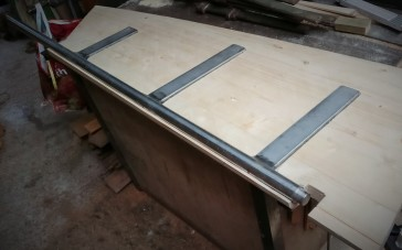 Rudder frame