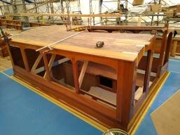Rebuilding coachroof