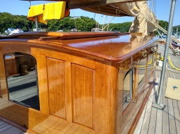 Coach roof panelling